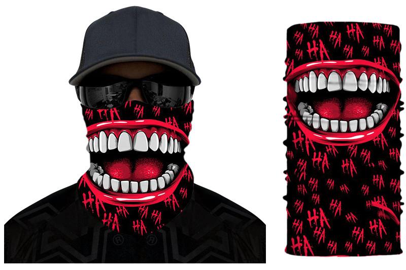 Say Cheese Neck Gaiter Accessories Men's Clothing & Accessories Neck Gaiter, Bandanas, Balaclavas