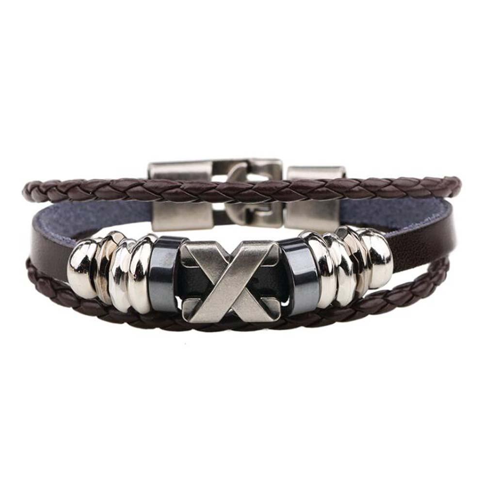 Men's Stylish Leather Bracelet Bracelets Men Jewelry