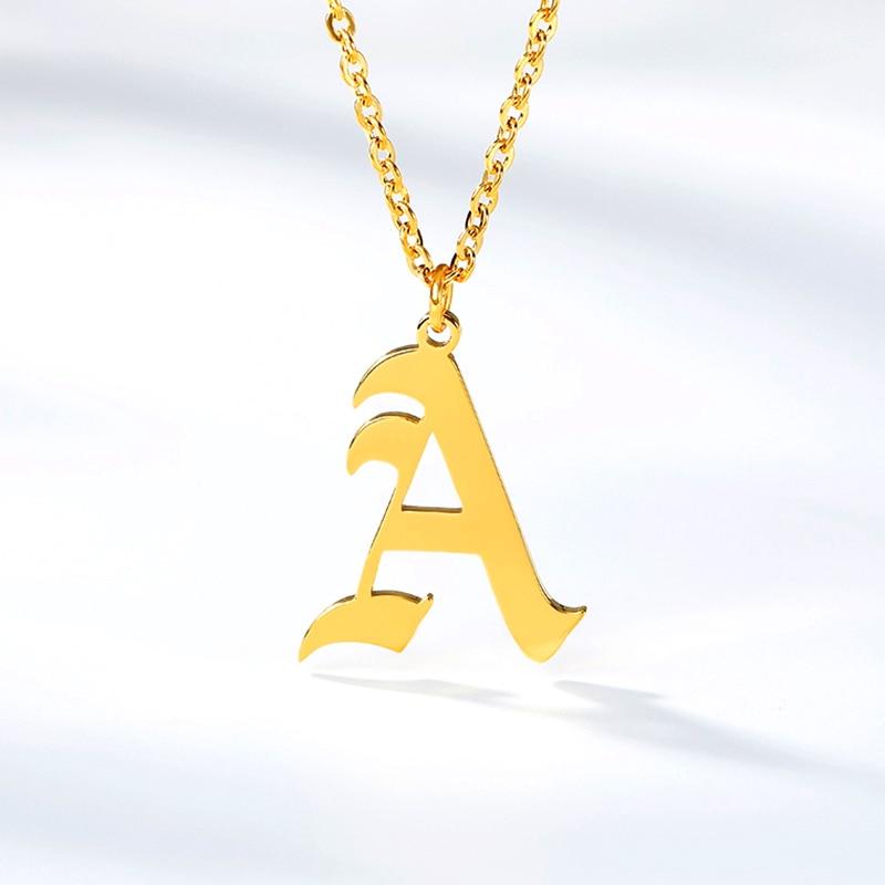 Men's Initial Necklace Necklaces