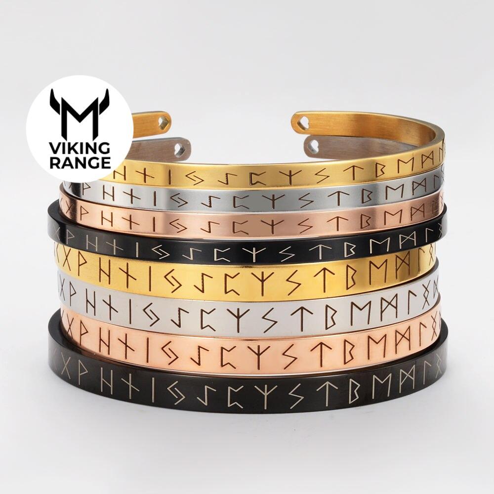 Nordic viking rune bracelet Bracelets Men Jewelry